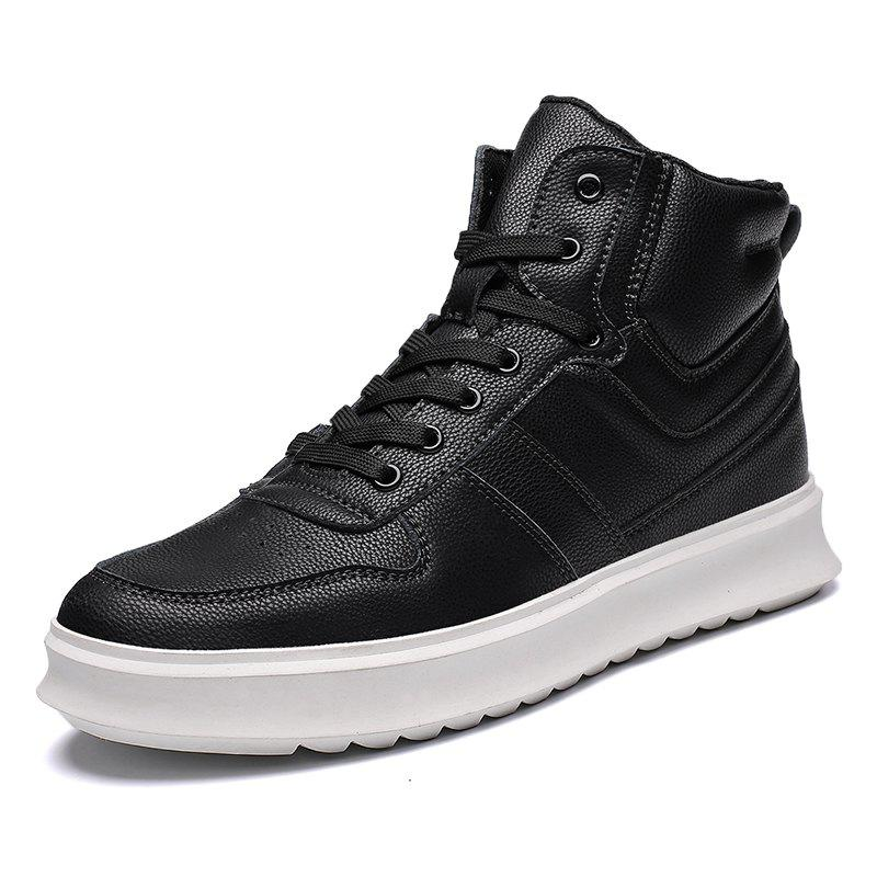Trendy High-Top Shoes Men'S Sports Shoes British Wind Shoes
