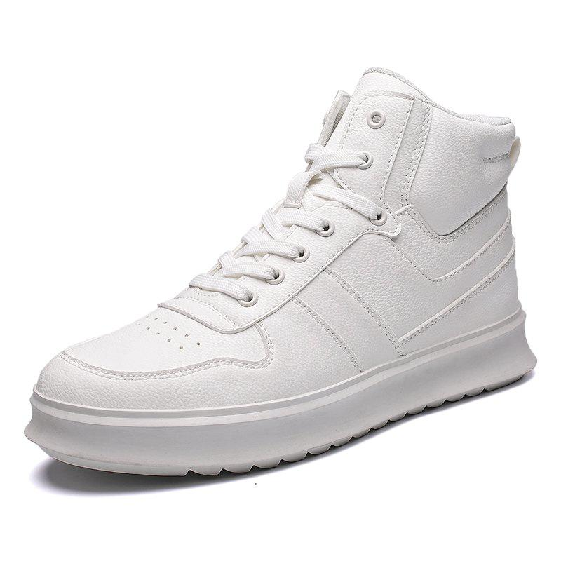 Latest High-Top Shoes Men'S Sports Shoes British Wind Shoes