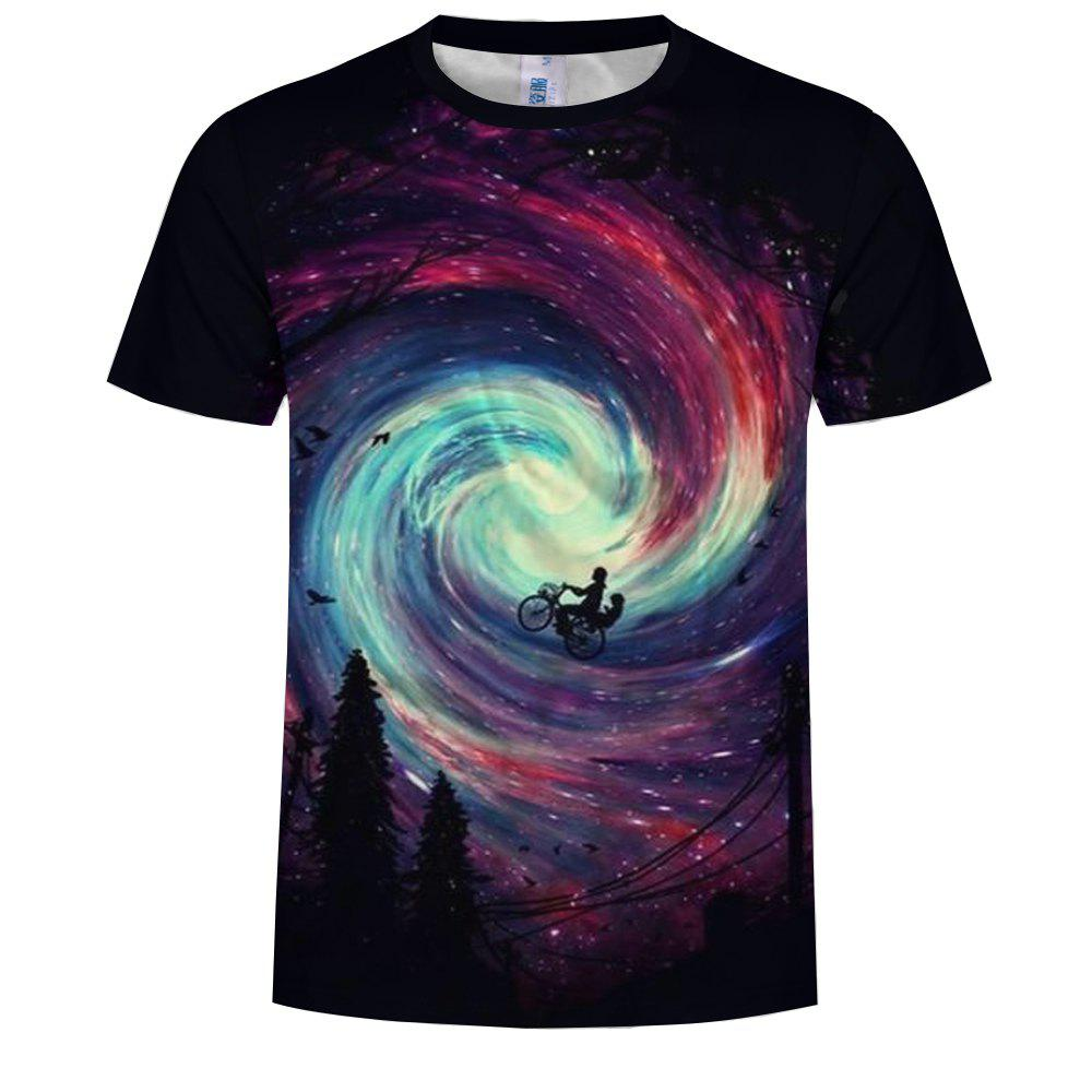 Store Fashion Men'S 3D Print Romantic  T-Shirt