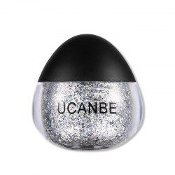 UCANBE Brand Face Body Блестящая паста Cream Makeup Gold Silver Diamond Highlighte -