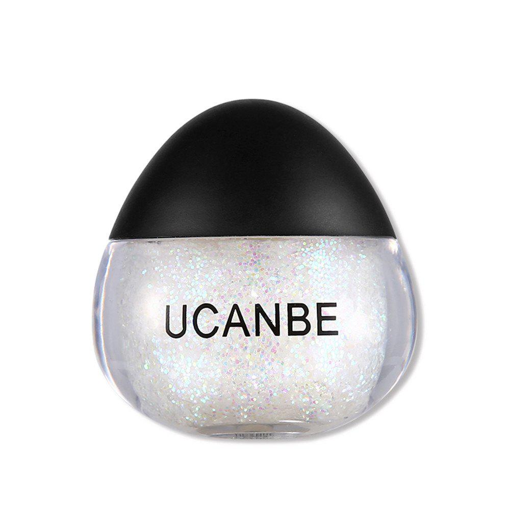 Fashion UCANBE Brand Face Body Glitter Paste Cream Makeup Gold Silver Diamond Highlighte