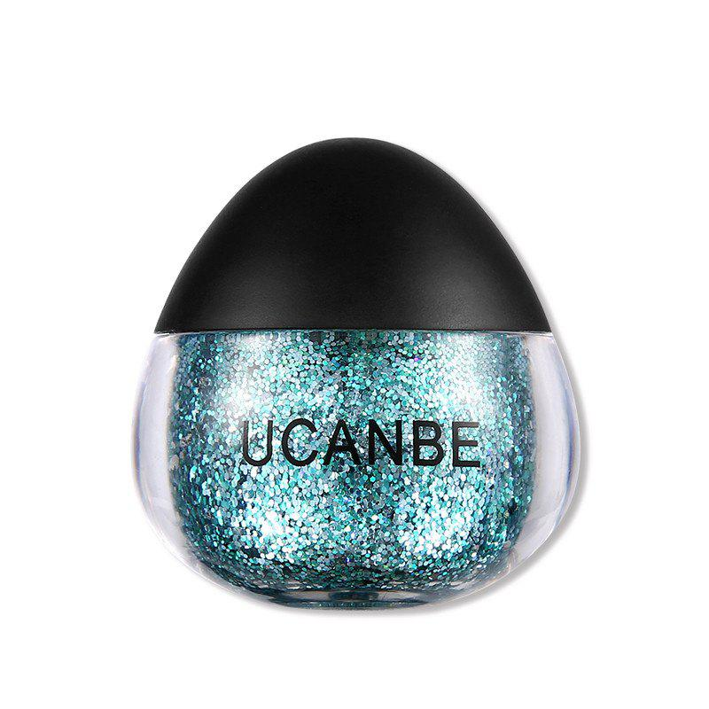 Store UCANBE Brand Face Body Glitter Paste Cream Makeup Gold Silver Diamond Highlighte