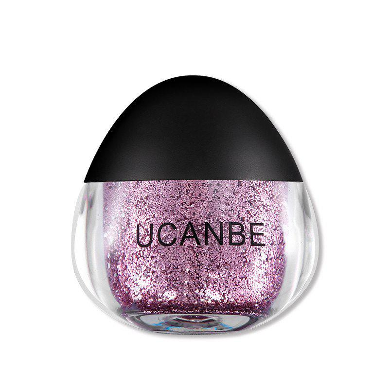UCANBE Brand Face Body Блестящая паста Cream Makeup Gold Silver Diamond Highlighte