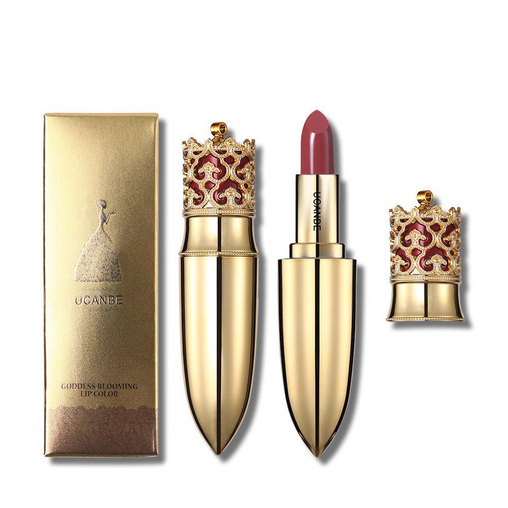 UCANBE Бренд Crown Velvet Matte Lipstick Makeup Golden 5 Color Nude Длительный срок