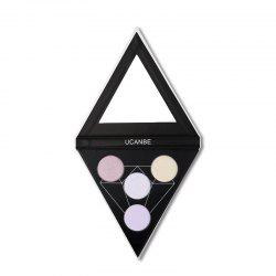 UCANBE Brand Face 4 Colors Highlighter Makeup Palette Illuminator Heaven'S -