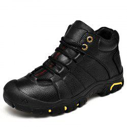 Men Outdoor Leisure Cotton Keep Warm Non-Slip Shock Absorption Hiking Shoes -