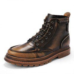 Men Trend Casual Shoes Tooling Boots -