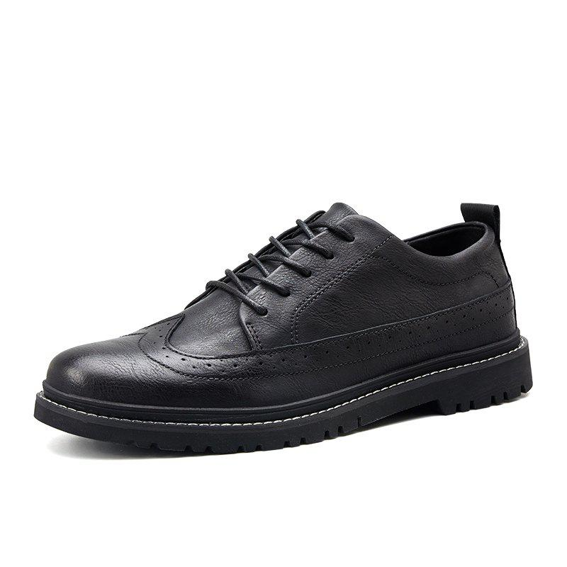 Hot Bullock Men Low-Cut Casual Oxford Shoes