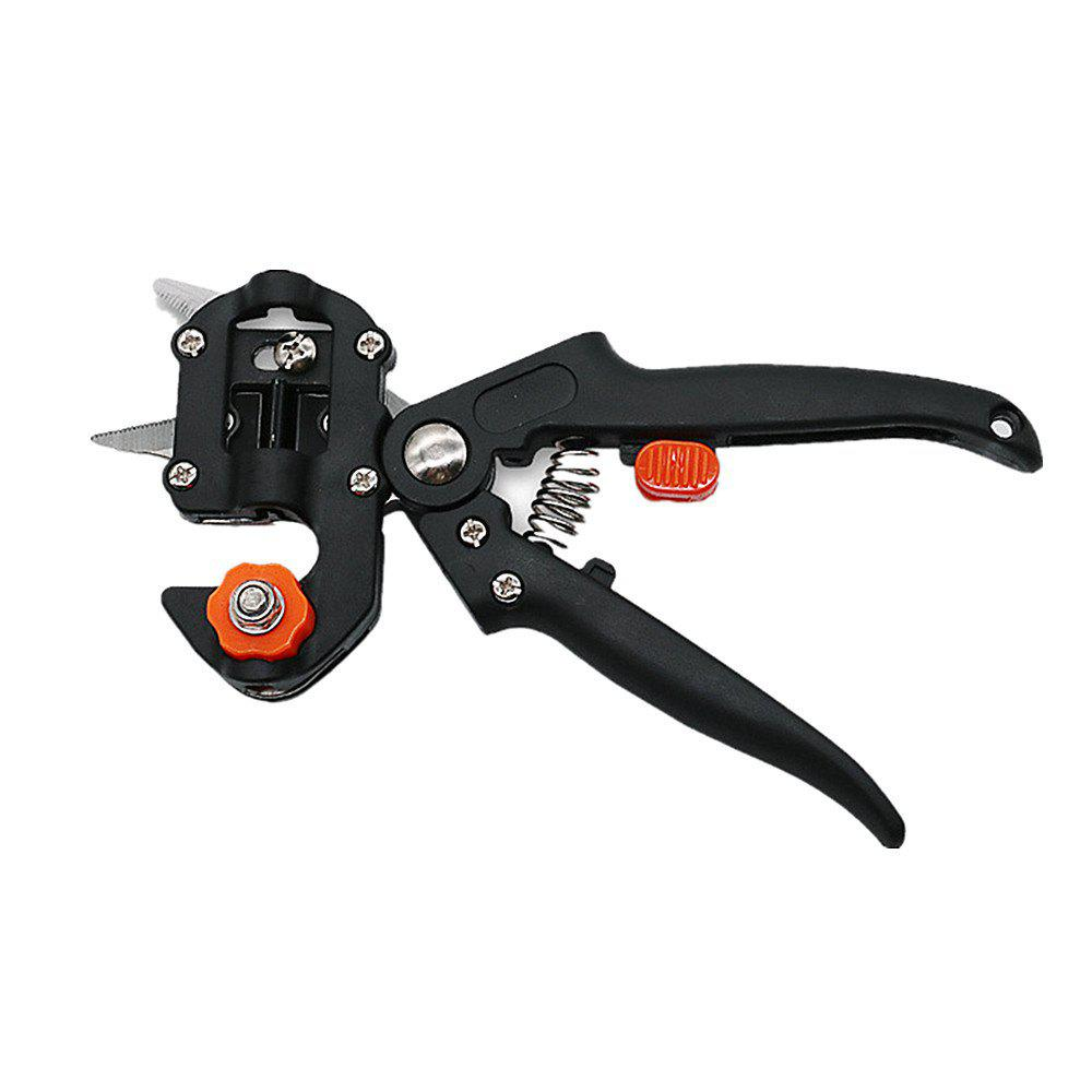 Trendy Grafting Machine with 2 Blades Tree Secateurs Grafting Tool Cutting Pruner