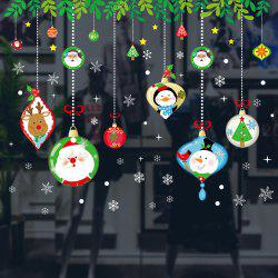 Christmas Window Glass Stickers -