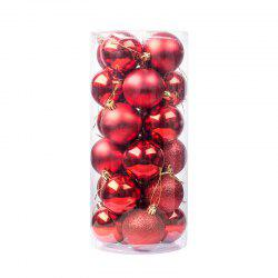 Christmas Christmas Ball (8cm) Christmas Tree Ornament Pendant 24 Christmas Ball -
