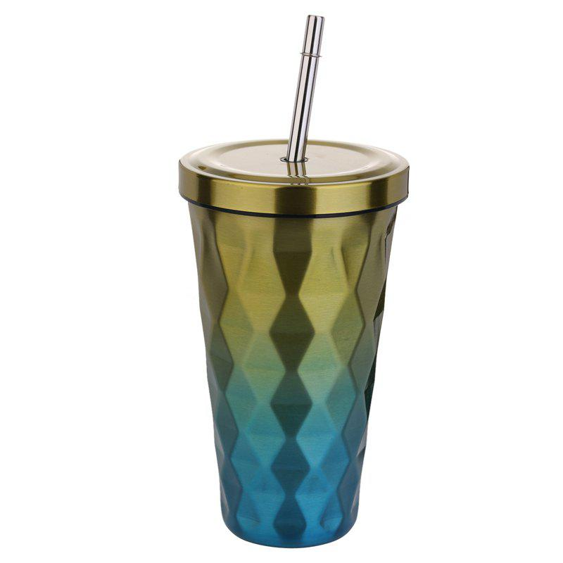 New Gradually discolored rhombic vacuum cup