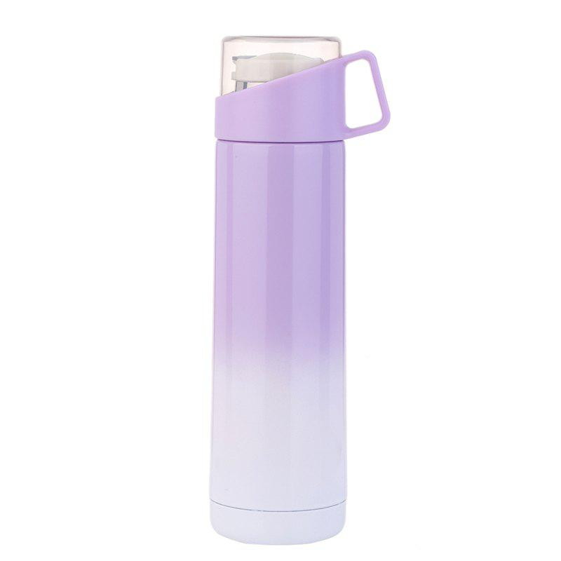 Fashion Fashion transparent handle cover thermos cup