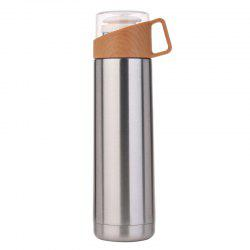 Business transparent cover annual ring thermos cup -