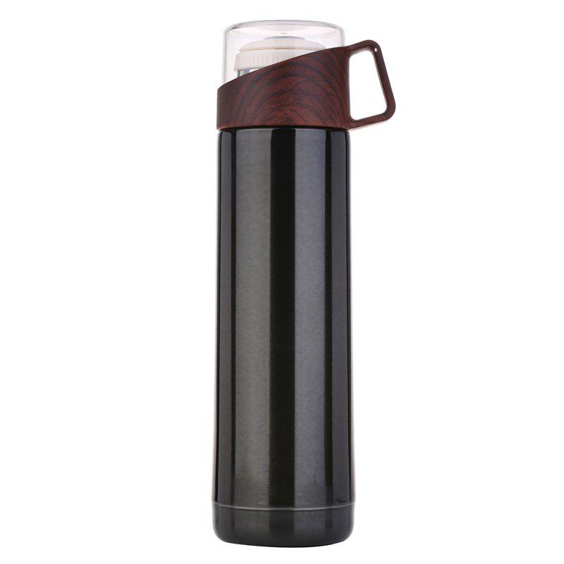 Trendy Business transparent cover annual ring thermos cup