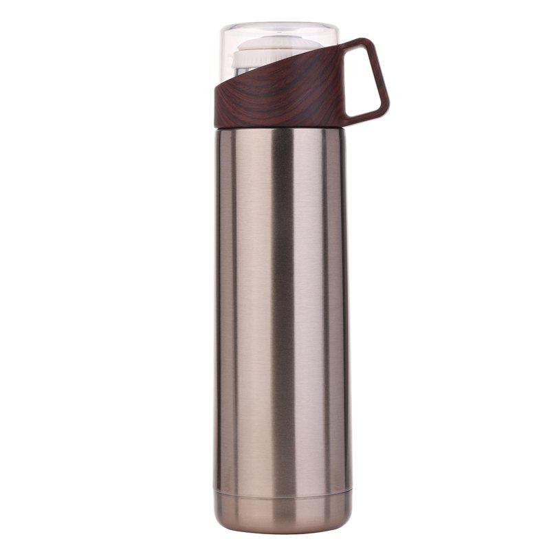Buy Business transparent cover annual ring thermos cup