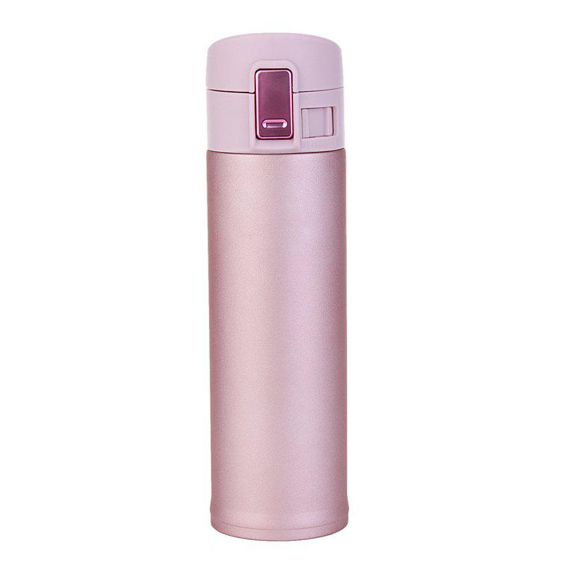 Latest High-grade stainless steel business spring cover thermos cup