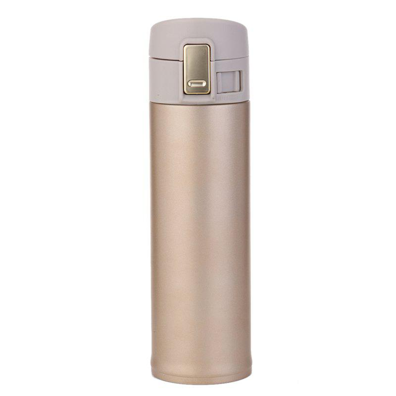 Hot High-grade stainless steel business spring cover thermos cup