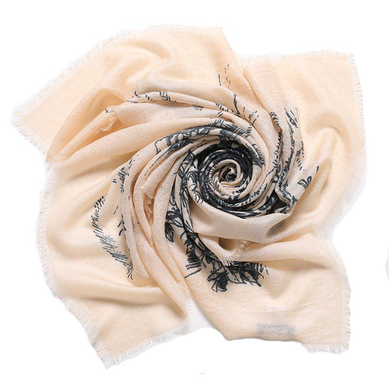 Fancy Yueor Autumn And Winter New 200 Water Soluble Wool Scarf