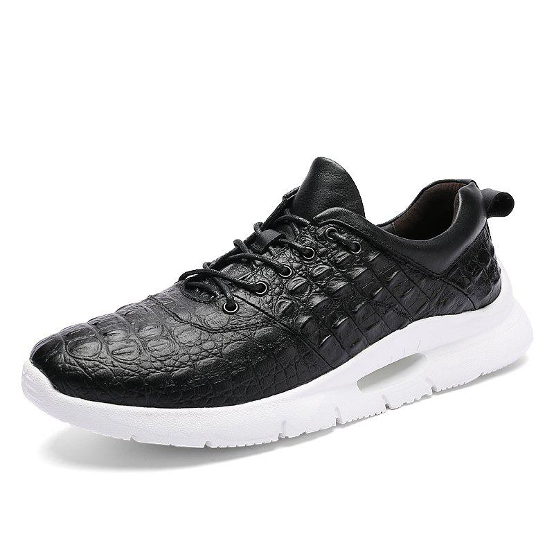 Chic Soft Sole Comfortable Casual Shoes Fashionable Men'S Shoes