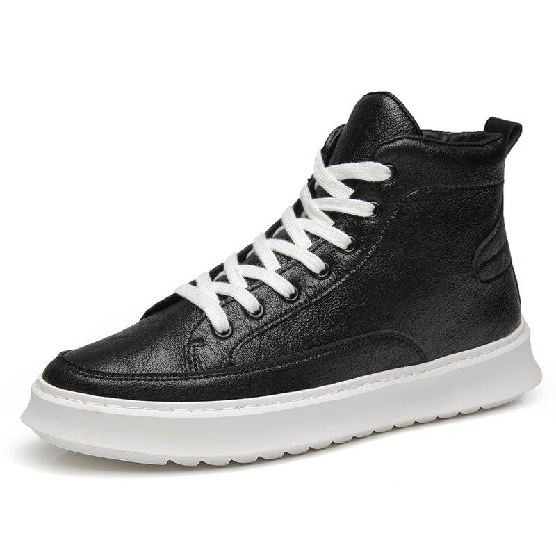 Online Fashionable Gaobang Simple Casual Men'S Shoes