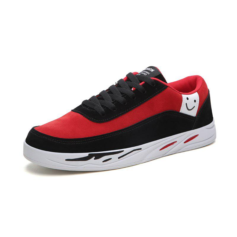 New Men'S Casual Sport Shoes with A Smiley Face