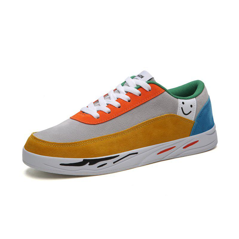 Hot Men'S Casual Sport Shoes with A Smiley Face