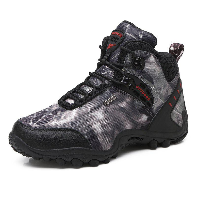 Trendy Gaobang Camouflage Boots Men'S Outdoor Climbing Shoes