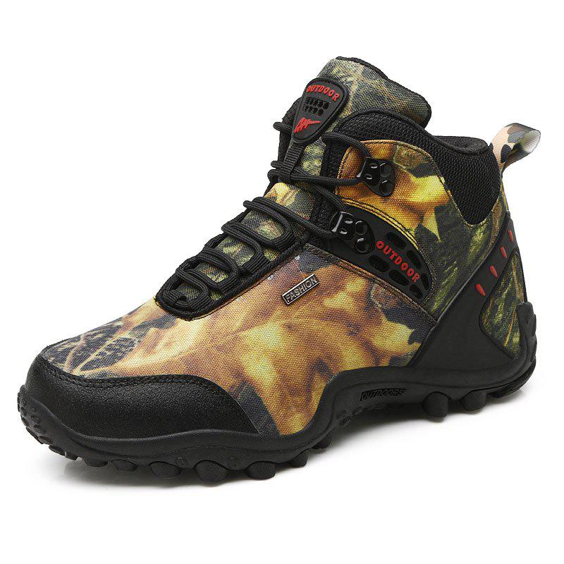 Shop Gaobang Camouflage Boots Men'S Outdoor Climbing Shoes