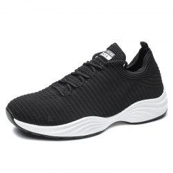 ZOSDON One-Piece Flying Woven Легкие ботинки Jogging Sneakers - Чёрный 39