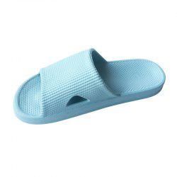 Home Story Summer Massage Cool Slippers Bathroom Non-Slip Thick Soles Slippers -