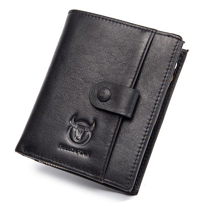 4882f2a074a1 Best Fashion Genuine Leather Men Wallet Vertical Type Male Card Coin Pocket  Purse