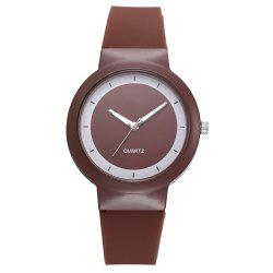XR2798 Fashion Candy Color Silicone Quartz Watch -
