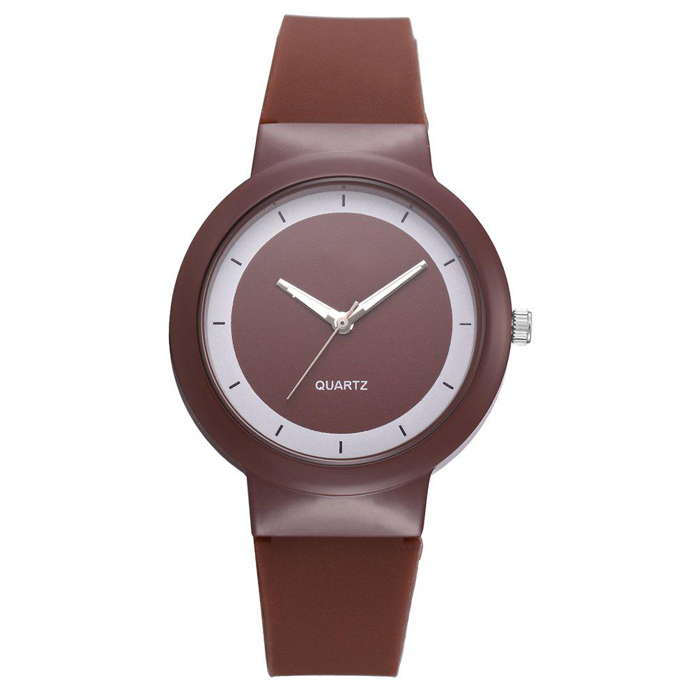 Hot XR2798 Fashion Candy Color Silicone Quartz Watch