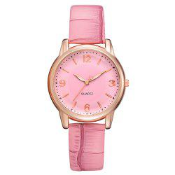 XR2802 Classic Watch Fashion Ladies Trendy PU Leather Quartz Watch -