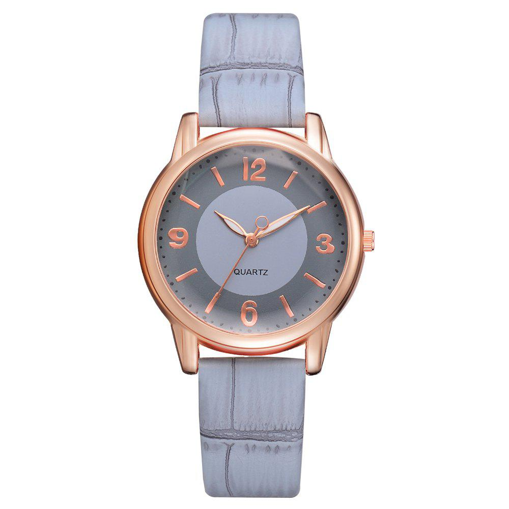 Latest XR2802 Classic Watch Fashion Ladies Trendy PU Leather Quartz Watch