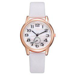XR2803 Monocular Watch High Quality Leather Quartz Watch Classic Digital Watch -