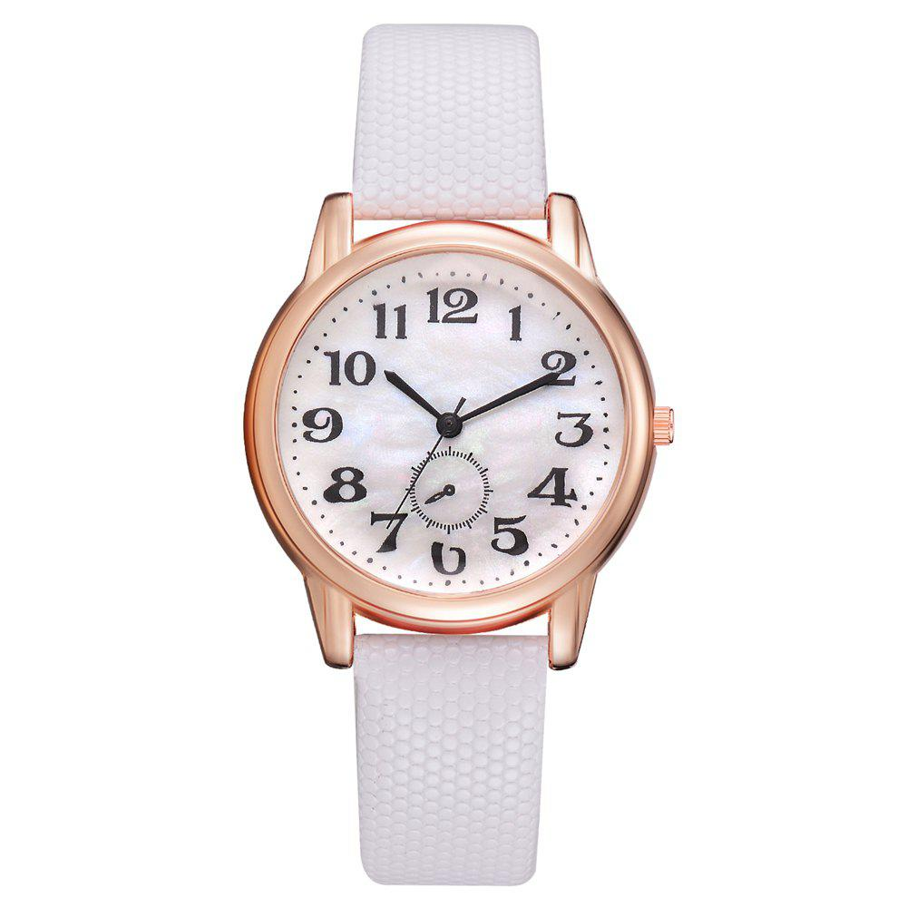 Shops XR2803 Monocular Watch High Quality Leather Quartz Watch Classic Digital Watch