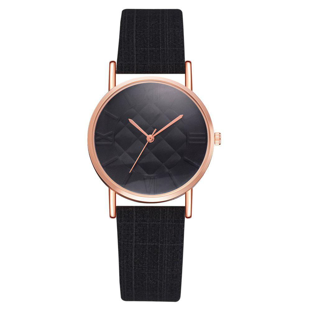 Affordable XR2807 Fashion Trend Roman Numeral Quartz Watch Square Mirror Women'S Watch