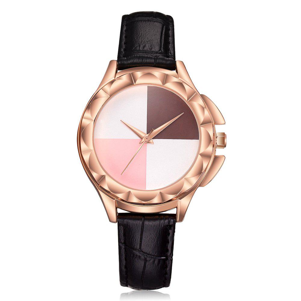 Outfit XR2695 Temperament Rose Gold Frame Wild Quartz Watch Simple Casual Fashion Watch