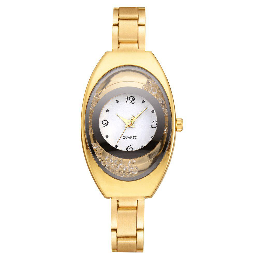 New XR2737 Fashion Trend Ball Creative Personality Steel Belt Ladies Watch