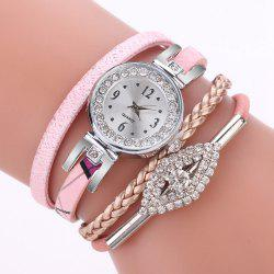 XR2741 Small Floral Bracelet with Diamond Accessories Women'S Watch -