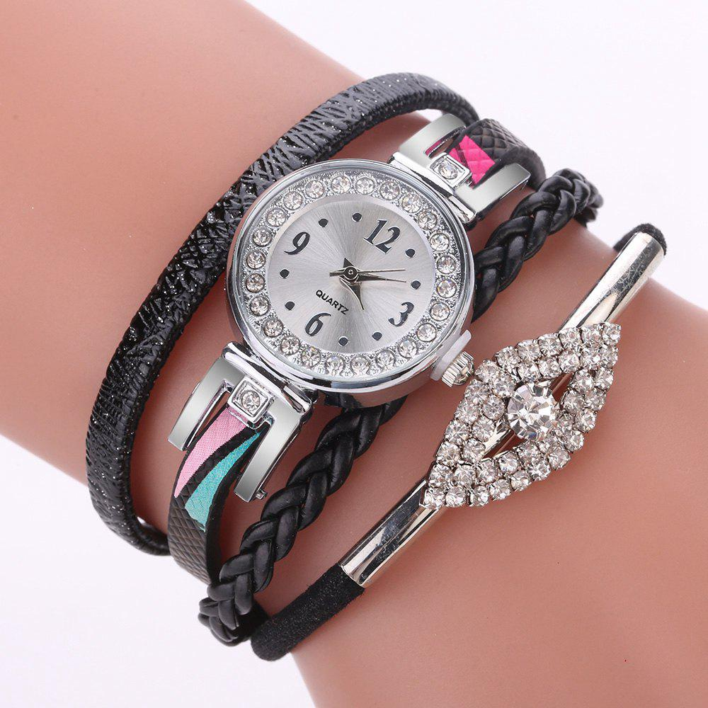 Shop XR2741 Small Floral Bracelet with Diamond Accessories Women'S Watch