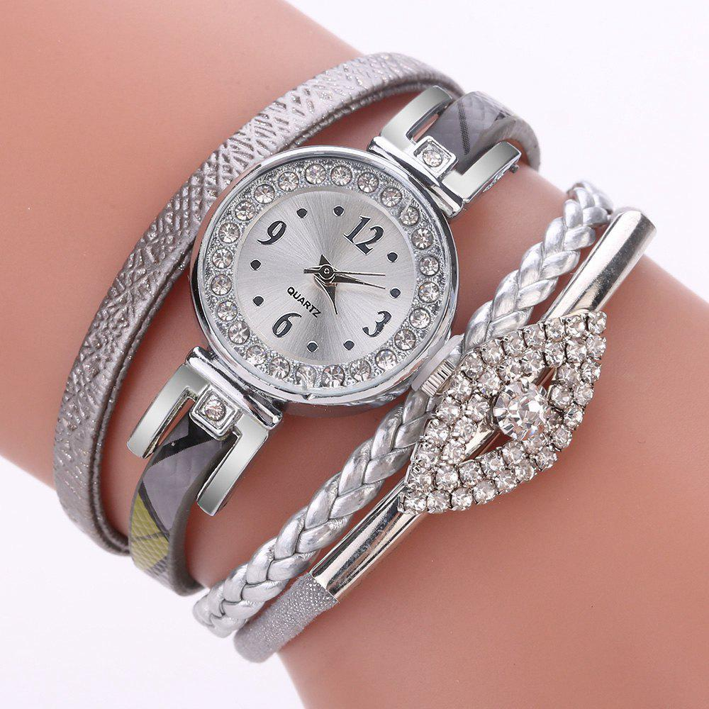 Affordable XR2741 Small Floral Bracelet with Diamond Accessories Women'S Watch
