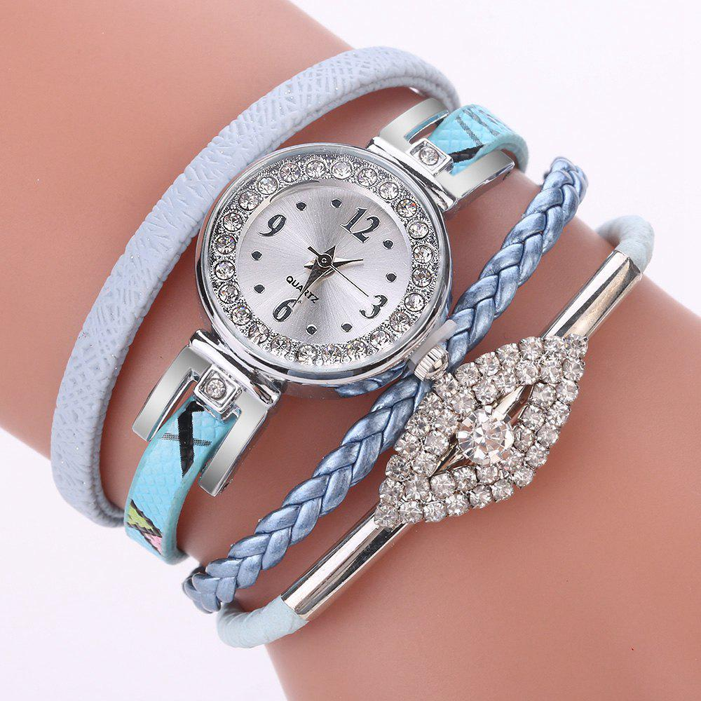 Chic XR2741 Small Floral Bracelet with Diamond Accessories Women'S Watch