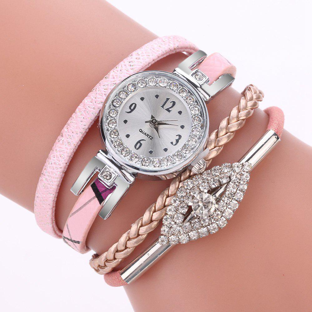 New XR2741 Small Floral Bracelet with Diamond Accessories Women'S Watch