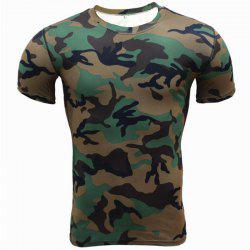 Men's Plus Size Sports Active Slim Tank Top Camouflage Print  Sleeveless -