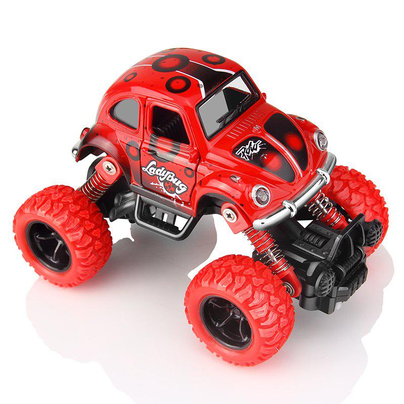 Unique Puzzle Alloy Inertial Car Cross-Country Beetle