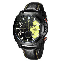Senors Multifunction Men's Calendar Casual Big Watch -