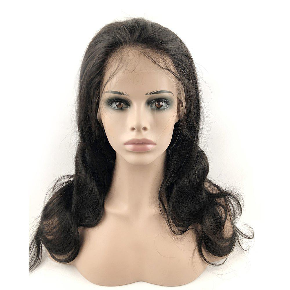 New Human Hair Lace Front Wigs Boby Wave with Baby Hair Natural Hairline for Women
